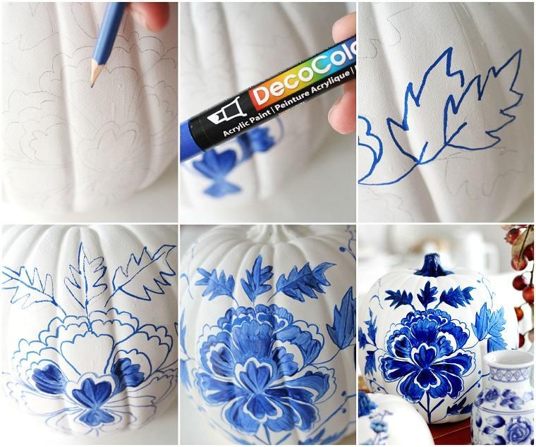 decorar-calabazas-porcelana-opciones-estilo-clasico