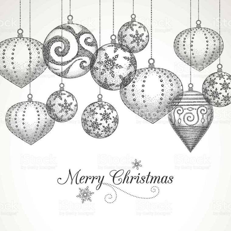 dibujos de Navidad decoracion