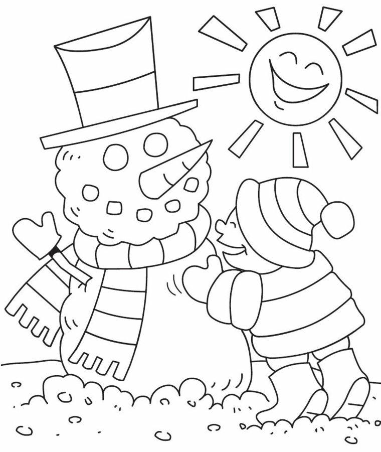 dibujos de navidad para-colorear