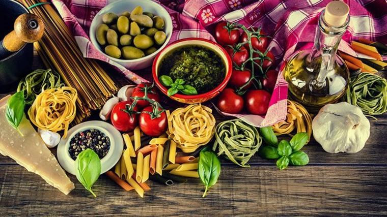productos de dieta mediterránea