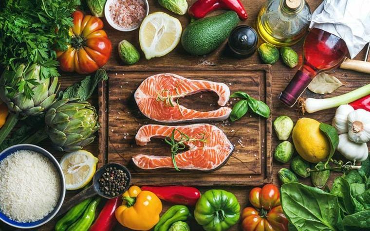 productos mediterráneos variados