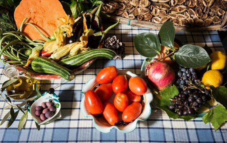 productos mediterráneos frescos