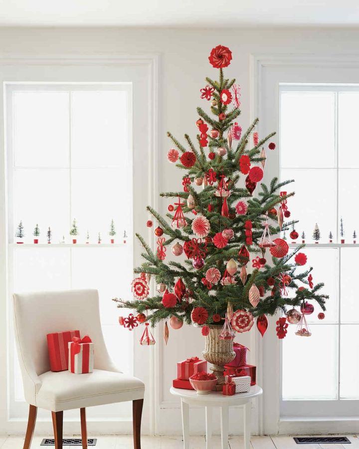 Arboles De Navidad Decorados Seleccionando El Estilo