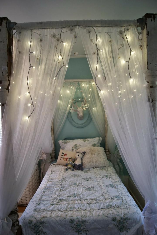 diseño bohemio cortinas claras