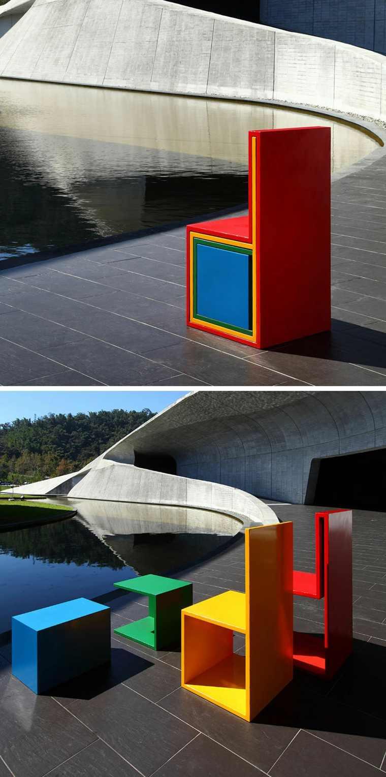 diseños colores apilables modernos