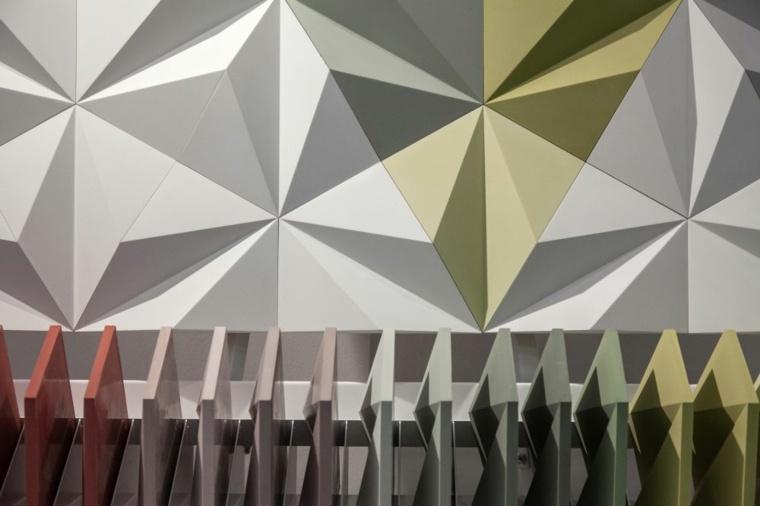 diseños contemporaneos paredes geometricas