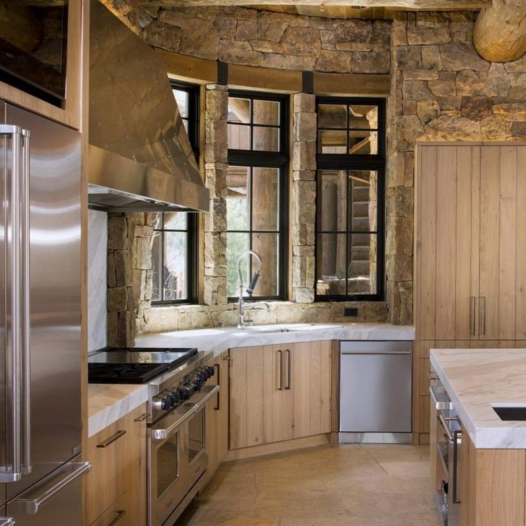 Fotos de cocinas r sticas e ideas para incorporar este - Diseno cocinas rusticas ...