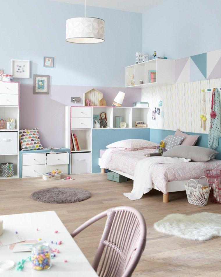 dormitorio-de-nina-en-colores-pasteles