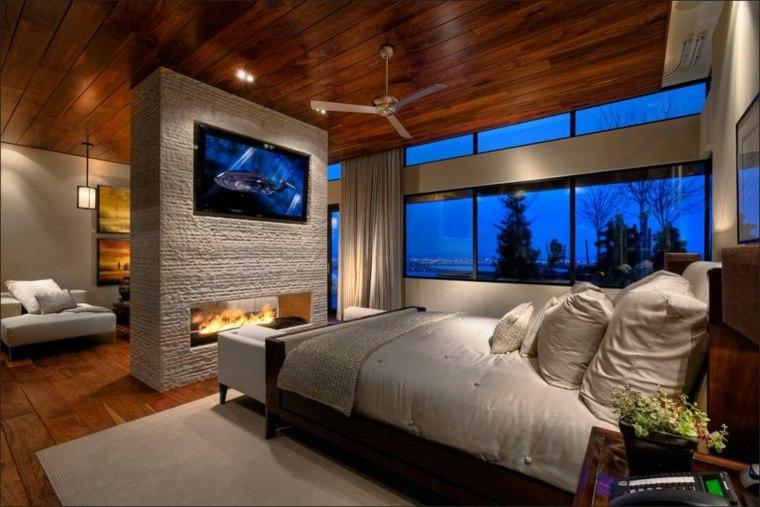 Dormitorios Con Chimeneas Modernas 30 Ideas Originales