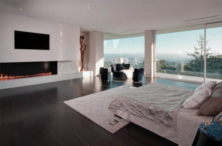 dormitorios-con-chimeneas-modernas-luminoso