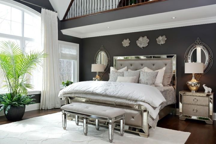 Glamour para dormitorios llenos de elegancia y confort