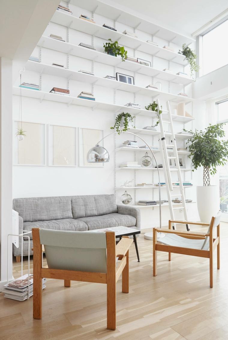 diseño de sala de estar de estilo escandinavo