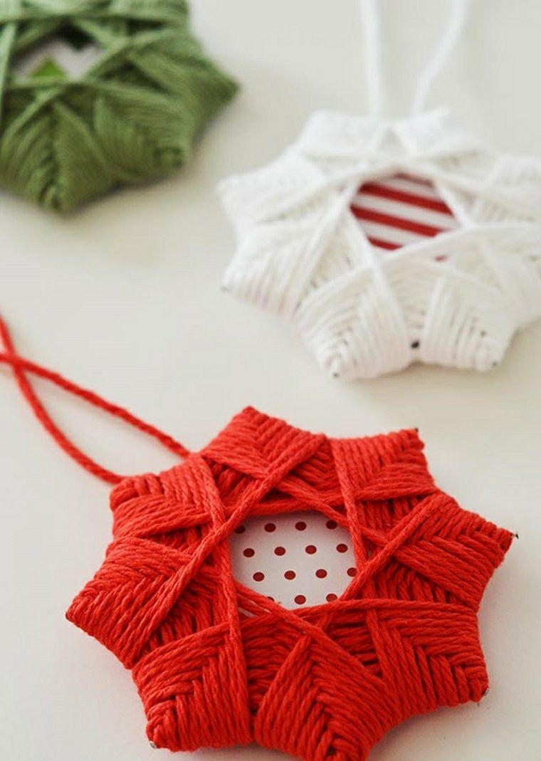 estrellas-navidad-tela-estilo-rojo-blanco