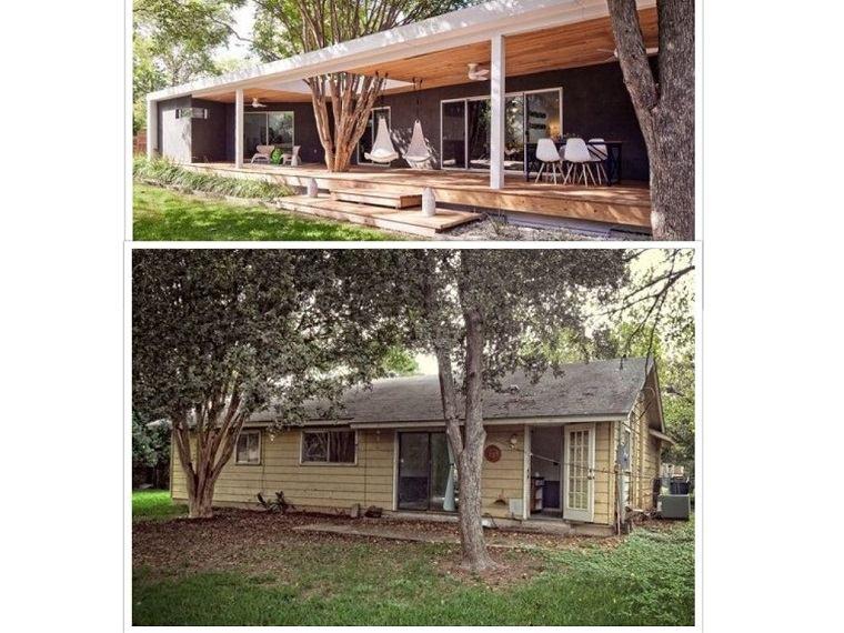 exteriores remodelados casa moderna