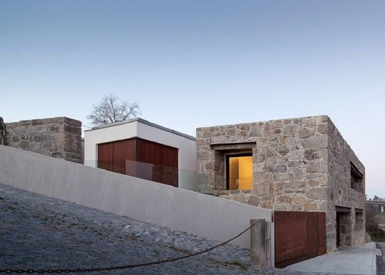 diseño de edificio de piedra