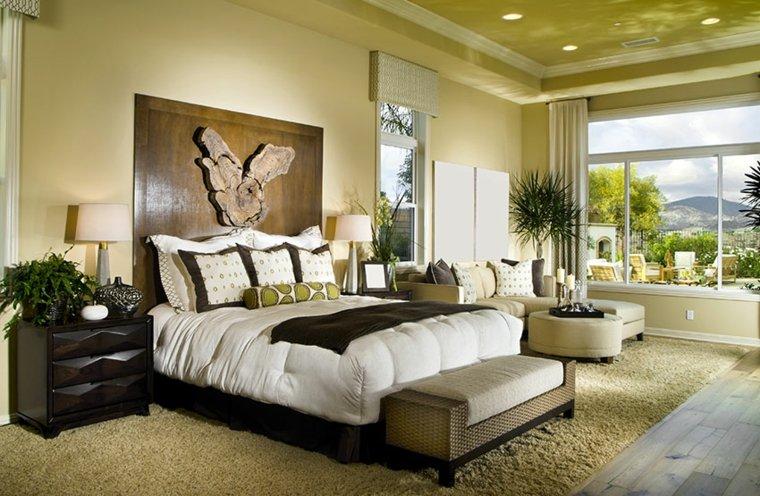 feng shui cama-dormitorio-decoracion-sala-estar-ventana