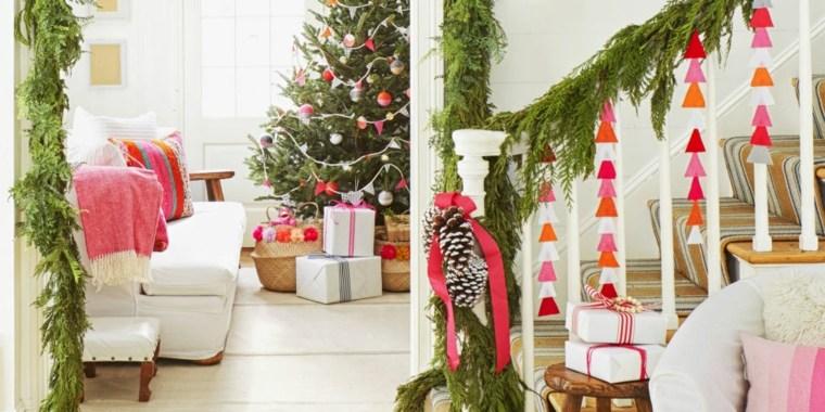 escoger los adornos navideños