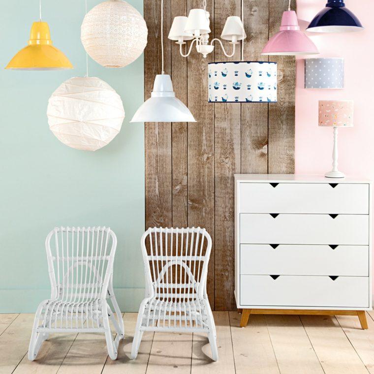 habitaciones infantiles ideas muebles blancos