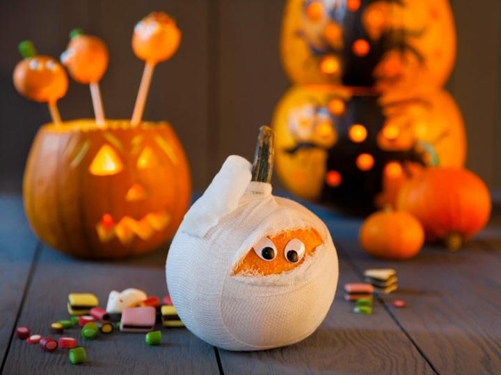 halloween manualidades frutas soluciones