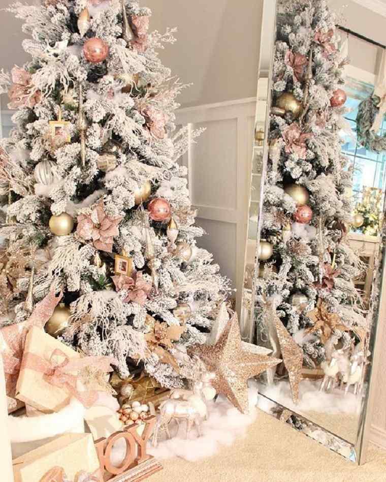 ideas de decoración para el árbol de Navidad