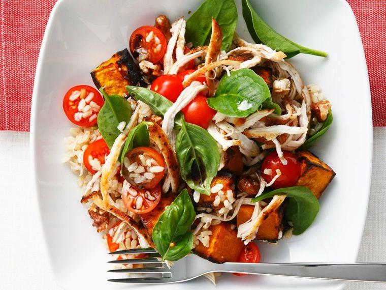 dieta con productos saludables