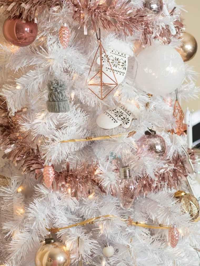 tendencias para decorar árboles de Navidad