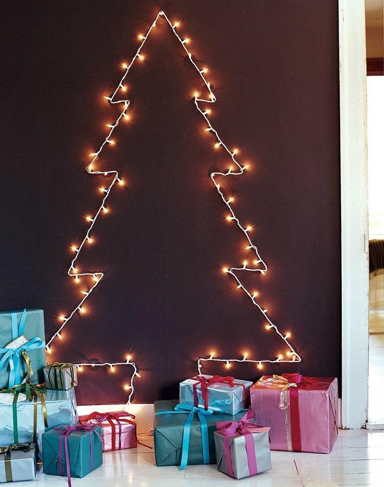 ideas para navidad-arbol-estilo-luces
