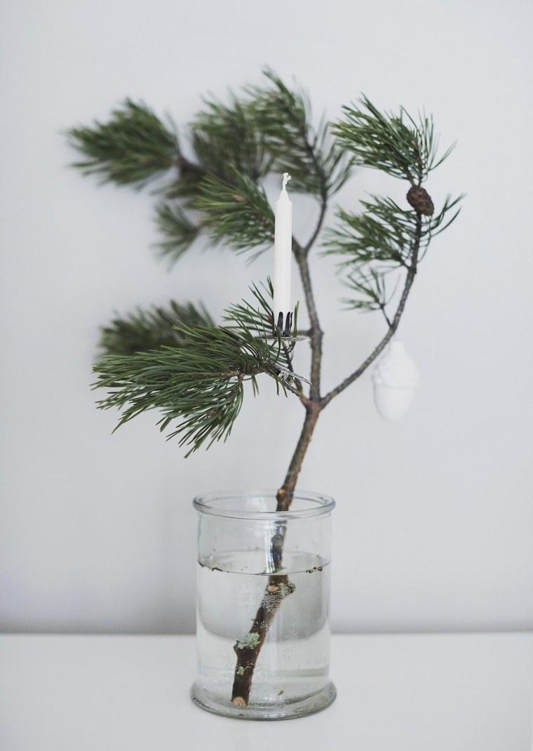 ideas para navidad rama-abeto-decoracion