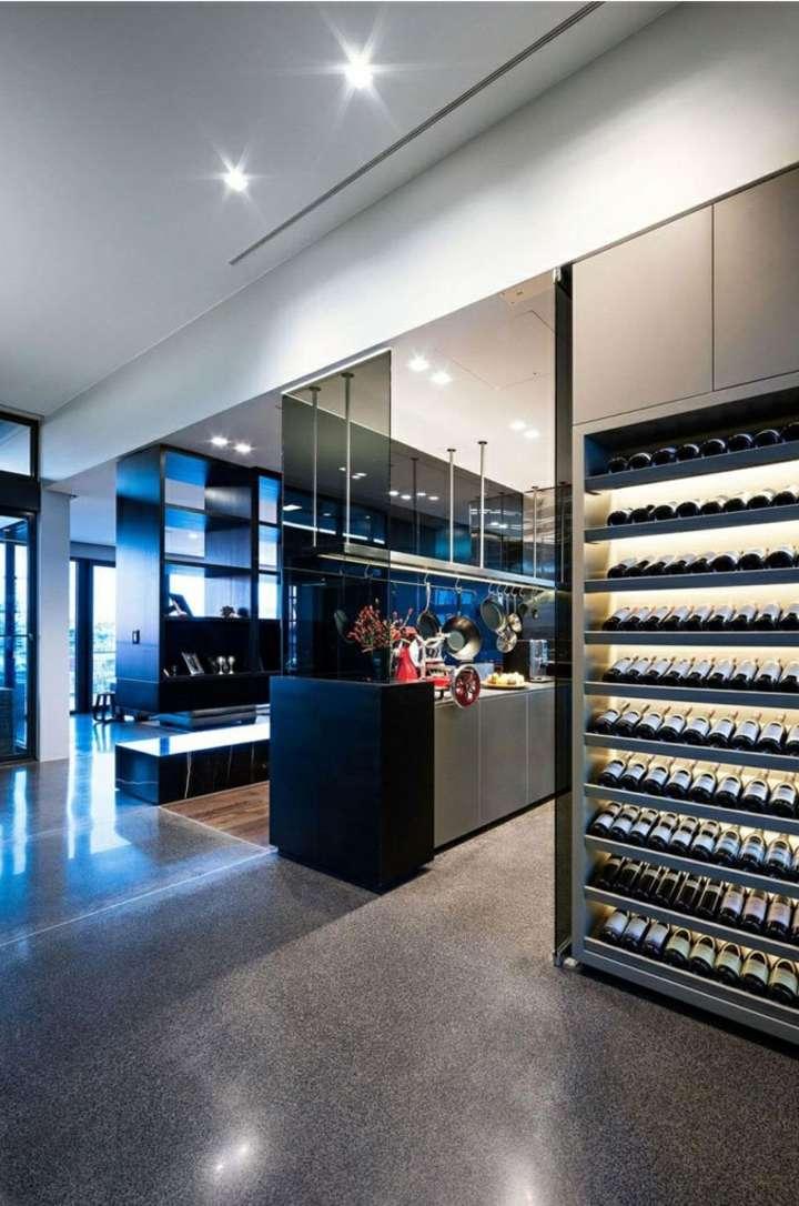 iluminacion led almacenamiento vinos