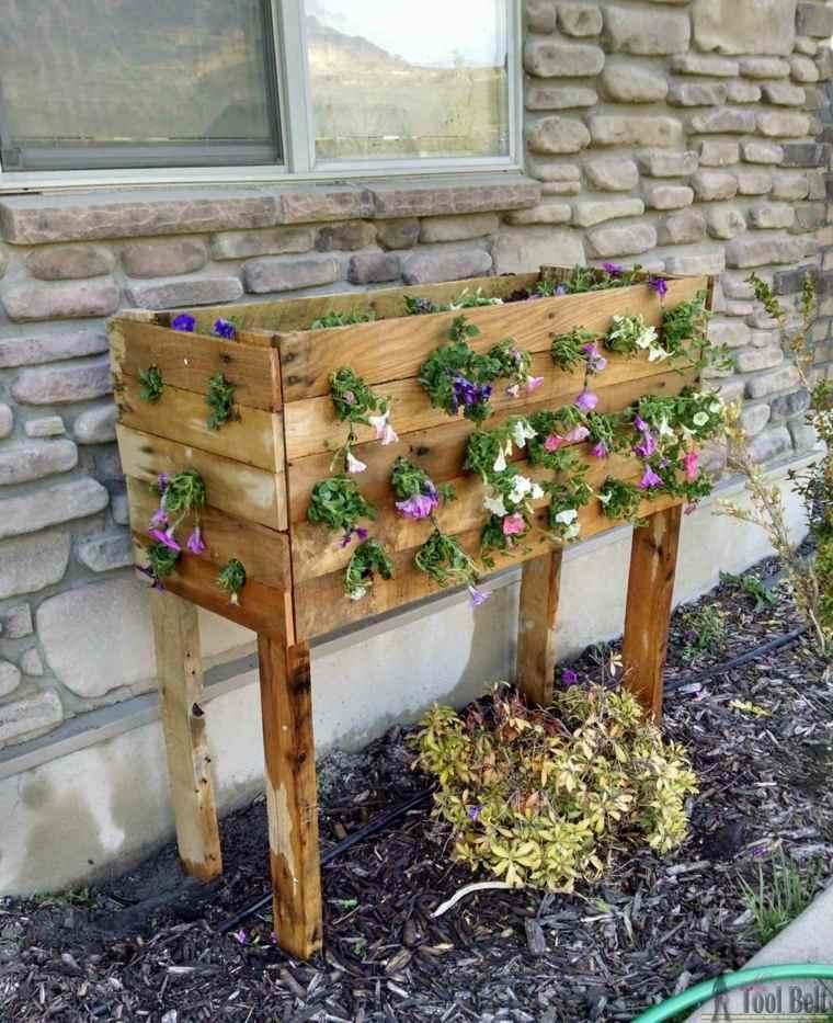 plantador para flores