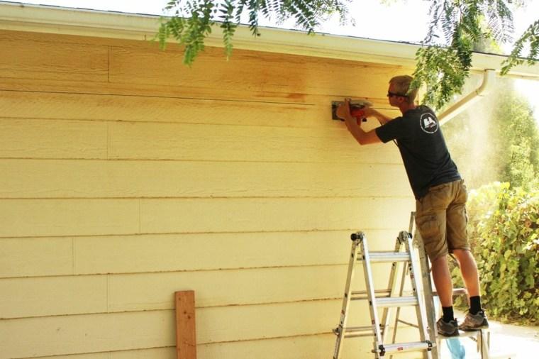inicio corte paredes exteriores
