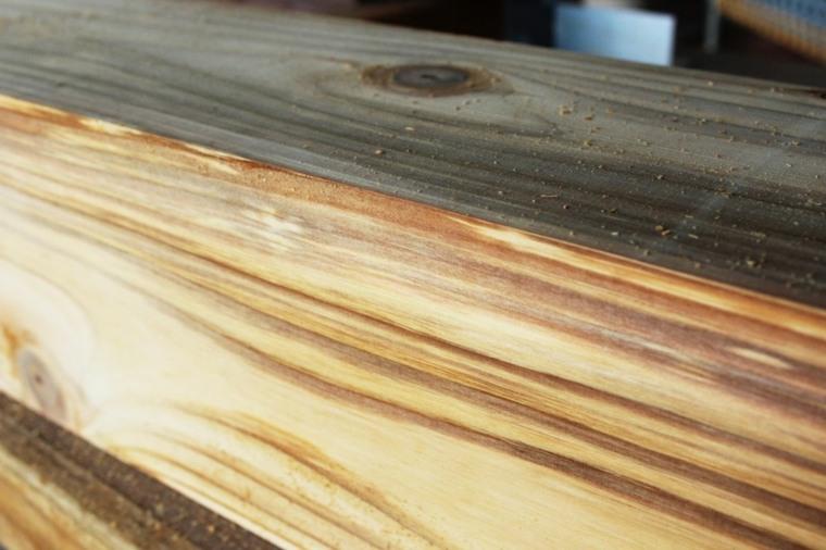granos de la madera