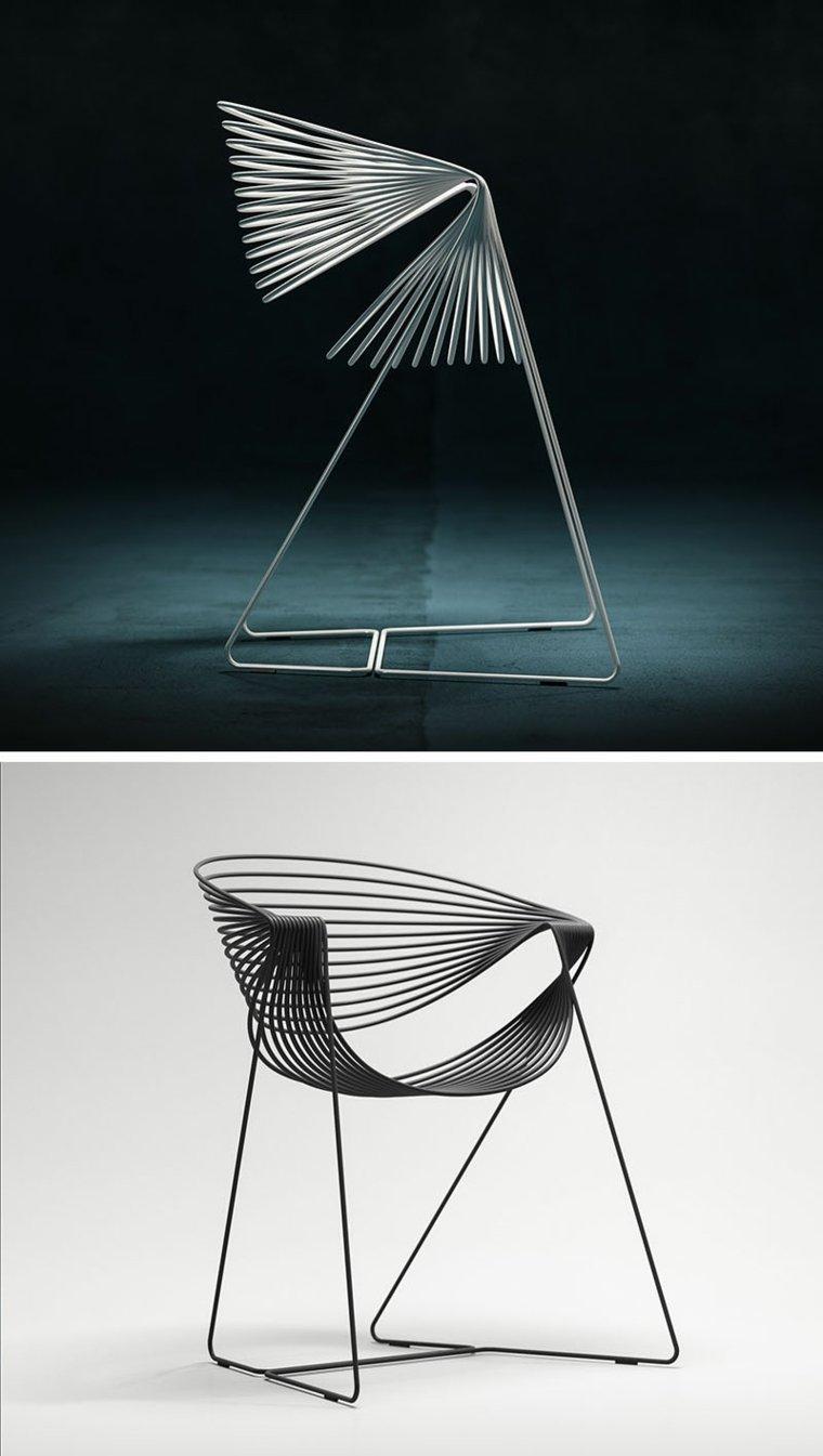 interesante concepto silla moderna