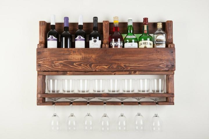 interiores muebles reciclado vino