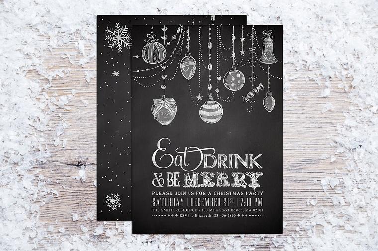 invitacion-fiesta-navidad-opciones-originales