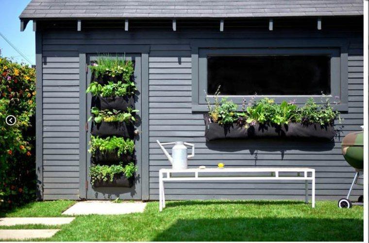 estupendos diseños de jardines verticales