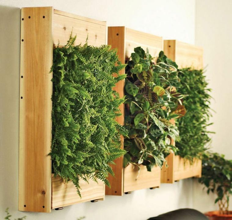 plantar jardines verticales Diy