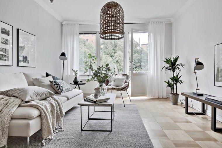 diseño de interior de estilo escandinavo
