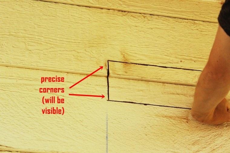 lineas marcamdo zonas corte