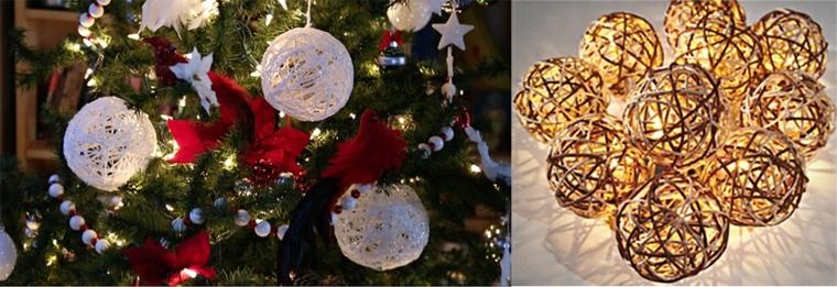 decoración original de Navidad