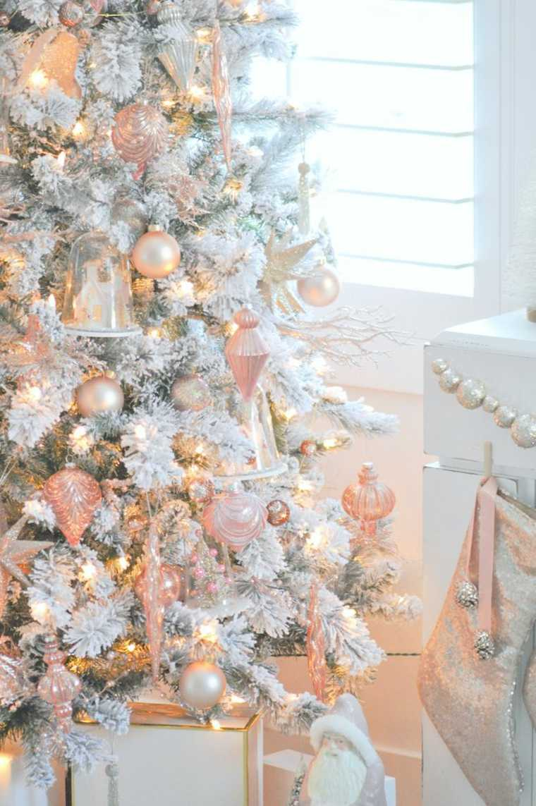 colores para decorar los árboles de Navidad