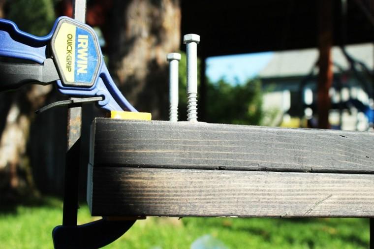 maderas exteriores pergola sencilla