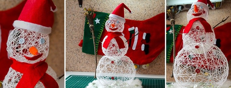 manualidades-navidad-adornos-muneco-nieve