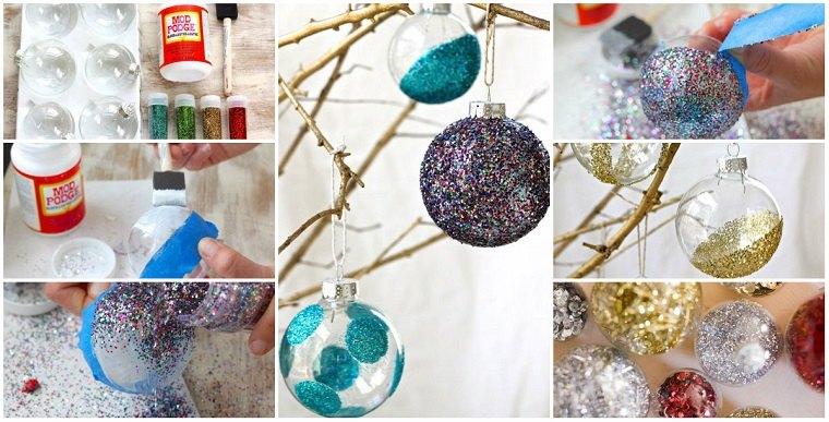 manualidades-navidad-arbol-adornos-brillantes