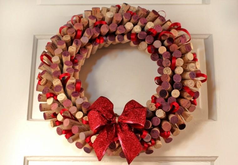 manualidades-navidad-opciones-corona-corcho