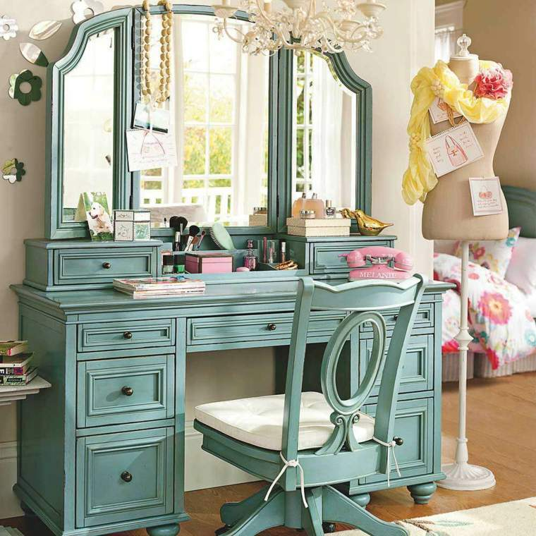 maquillaje-profesional-muebles-color-verde-claro
