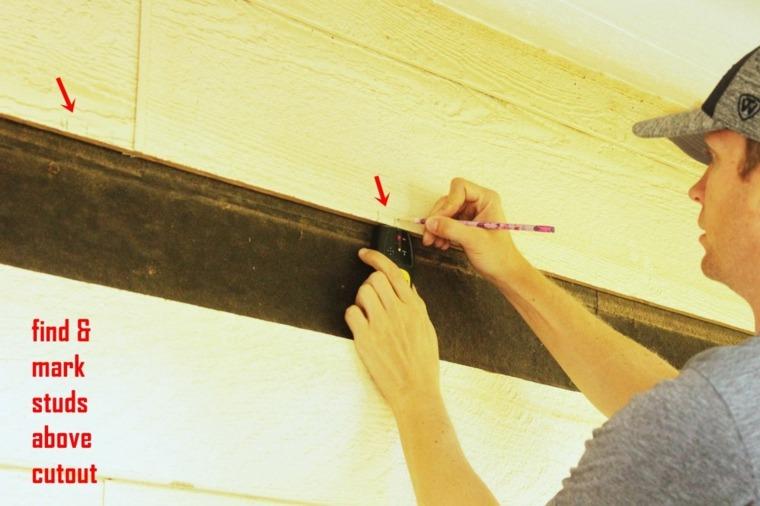 medicion bordes separados pared