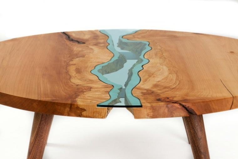 mesa-de-madera-con-rio