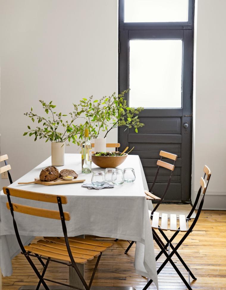 diseño de comedor estilo mediterráneo