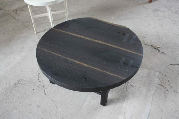 mesilla de madera